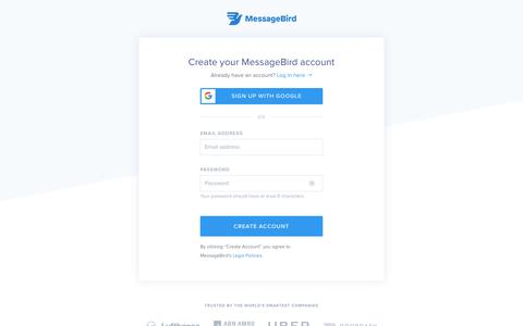 Try it for free! - MessageBird