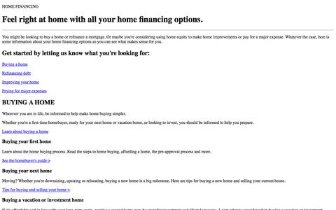Home Loans and Mortgage Refinancing Education