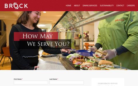 Screenshot of Contact Page brockco.com - Contact Brock & Company, Inc. - captured Sept. 24, 2018