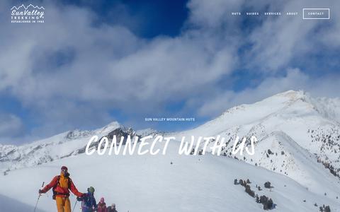 Screenshot of Contact Page svtrek.com - CONTACT — Sun Valley - captured Nov. 22, 2018