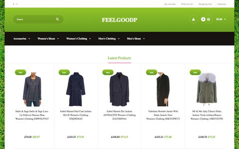 Screenshot of Home Page feelgoodpt.co.uk - LIEBLINGSSTÜCK Grinding Cardigan,Helmut Lang Jeans,Tod'sGommino printed casual shoes - captured Aug. 10, 2018