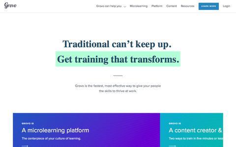 Homepage -                         Grovo