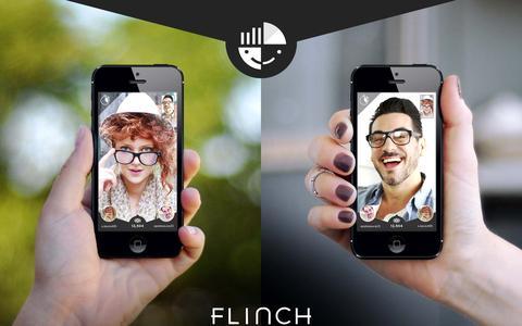 Screenshot of Home Page makemeflinch.com - Flinch - captured Nov. 3, 2015