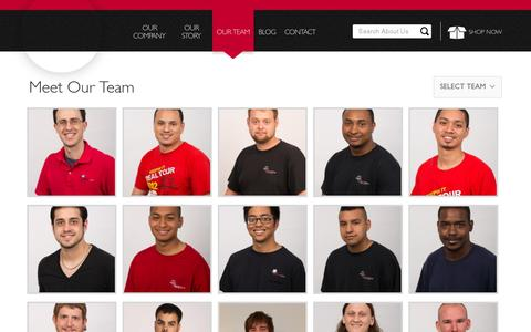 Screenshot of Team Page partstown.com - Meet Our Team | Parts Town - captured July 18, 2014