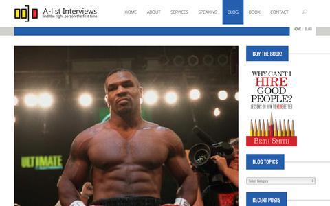 Screenshot of Blog a-listinterviews.com - Blog – A-list Interviews - captured July 25, 2018