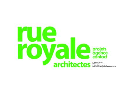 Screenshot of Contact Page rueroyalearchitectes.com - Rue Royale Architectes - contact - captured June 2, 2016