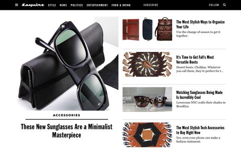 Mens Accessories 2017 - Watches, Shoes and Accessories for Men