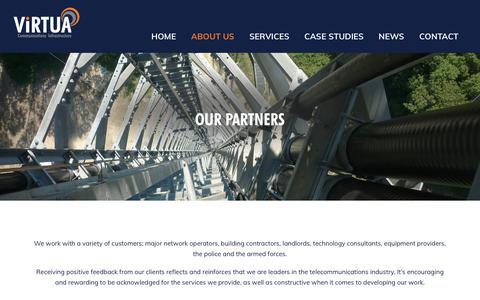 Screenshot of Testimonials Page virtua.uk.com - Our Testimonials   Virtua UK - captured Oct. 18, 2018