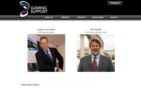 Screenshot of Team Page gamingsupport.com - Gaming Support - captured May 15, 2017