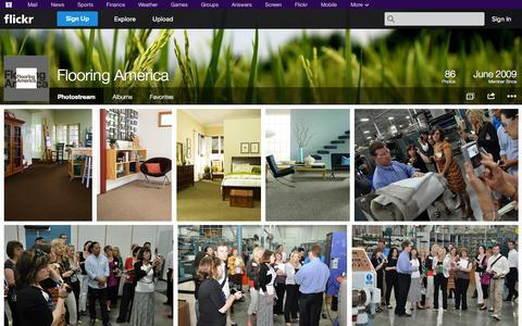 Screenshot of Flickr Page flickr.com - Flickr: Flooring America's Photostream - captured Oct. 23, 2014