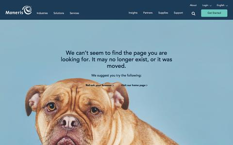 Screenshot of Developers Page moneris.com captured Sept. 4, 2018