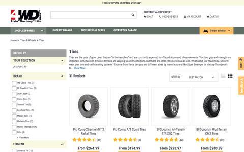 Tires | 4wd.com