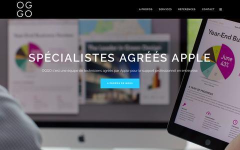 Home - OGGO - Services Apple Macintosh