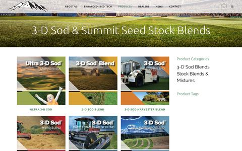 Screenshot of Products Page summitseed.com - Products Archive - Summit Seed - captured Oct. 27, 2017