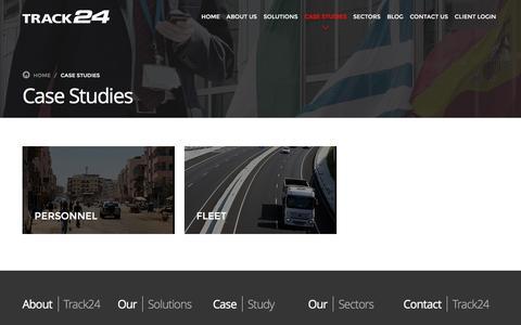 Screenshot of Case Studies Page track24.com - Case Studies - Track24 - captured Jan. 12, 2016