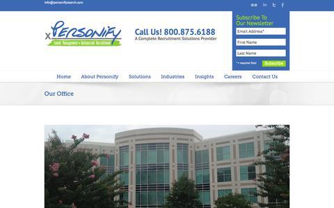 Recruitment Process Outsourcing   Executive Search Our Office - Recruitment Process Outsourcing   Executive Search