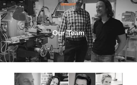 Screenshot of Team Page deciwatt.global - Our Team — Deciwatt Ltd - captured May 13, 2016