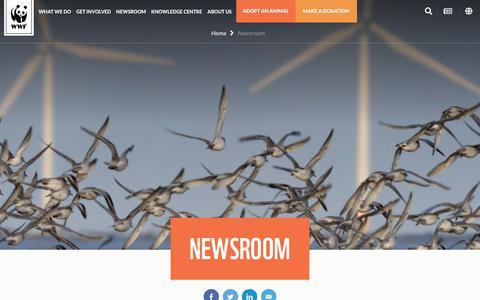 Screenshot of Press Page wwf.org.au - Wildlife & Environmental Conservation News - WWF - WWF-Australia - captured Dec. 12, 2018