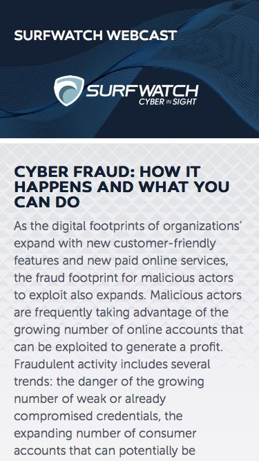 Cyber Fraud: How it Happens and What You Can Do