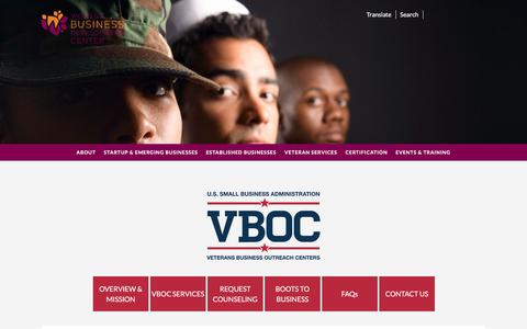Screenshot of Press Page wbdc.org - News – Women's Business Development Center - captured Jan. 11, 2020