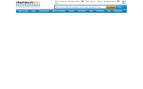 Classical Sheet Music And Classical Music Scores At Sheet Music Plus