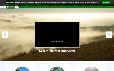 Screenshot of Home Page hochrhoen-touren.de - Willkommen bei Hochrhön-Touren   Die Rhön von ihrer schönsten Seite erleben - captured Oct. 30, 2018
