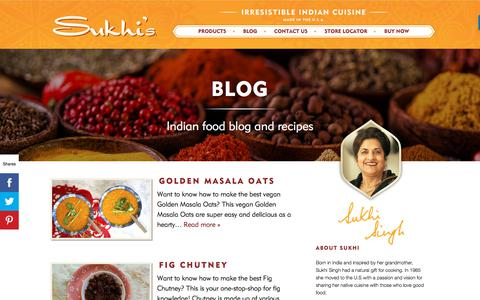 Screenshot of Blog sukhis.com - Blog – Sukhis - captured Nov. 11, 2019