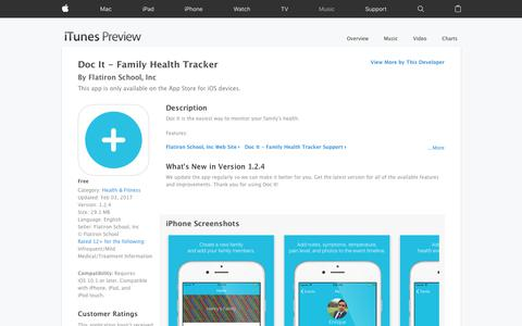 Doc It - Family Health Tracker on the App Store