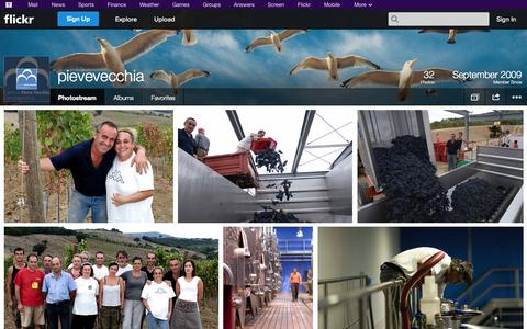 Screenshot of Flickr Page flickr.com - Flickr: pievevecchia's Photostream - captured Oct. 22, 2014