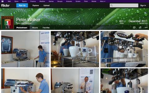 Screenshot of Flickr Page flickr.com - Flickr: Pierro Coffee Machines' Photostream - captured Oct. 22, 2014