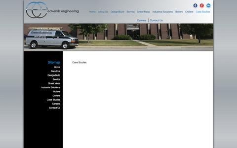 Screenshot of Case Studies Page edwardsengineering.com - Case Studies - Edwards Engineering - captured July 17, 2017