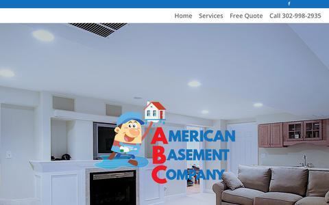 Screenshot of Testimonials Page americanbasement.com - Testimonials - American Basement Company - captured July 3, 2018
