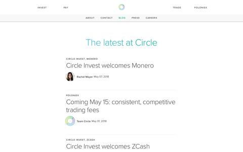 Circle | The new shape of money