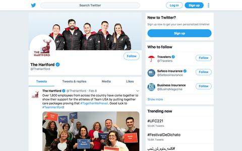 Tweets by The Hartford (@TheHartford) – Twitter