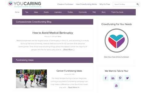 Compassionate Crowdfunding Blog - YouCaring