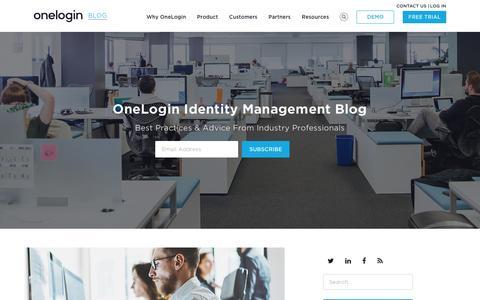 OneLogin Identity Management Blog - Best Practices & Advice