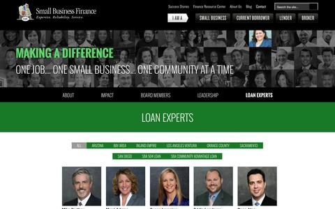 Screenshot of Contact Page cdcloans.com - Loan Experts, Small Business Loans Experts | CDC Small Business - captured Oct. 21, 2015