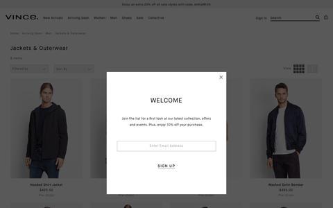 Men's Pre-Order Jackets & Outerwear | Vince