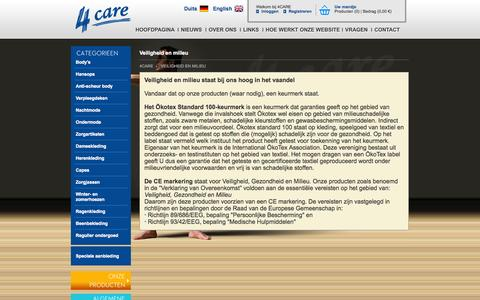 Screenshot of Maps & Directions Page 4care.eu - Veiligheid en milieu - 4Care - captured Oct. 7, 2014