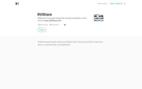 RVShare – Medium
