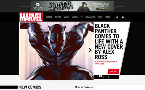Marvel.com: The Official Site   Iron Man, Spider-Man, Hulk, X-Men, Wolverine and the heroes of the Marvel Universe.Comics,  News, Movies and Video Games   Marvel.com