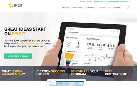 Idea & Innovation Management Software - Spigit