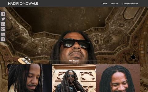 Screenshot of Press Page eapro.net - Nadir Omowale – Artist, Music Producer, Creative Consultant & Coach - captured Oct. 1, 2014