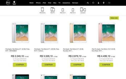 iPad Apple em Promoção + Frete grátis é na iPlace