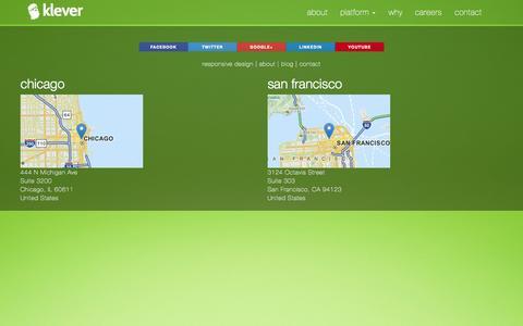 Screenshot of Blog veryklever.com - blog | klever - captured Oct. 6, 2014
