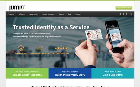 Digital ID Verification and Scanning Solutions | Jumio