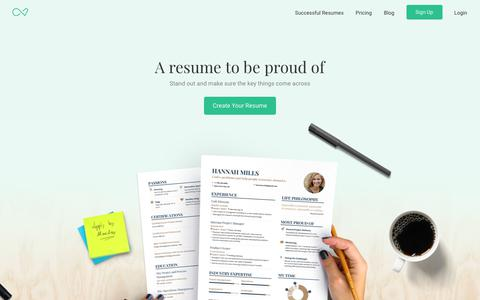 Enhancv | Professional Resume & CV Builder