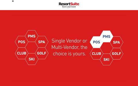 Resort, Hotel and Spa Management Software | ResortSuite