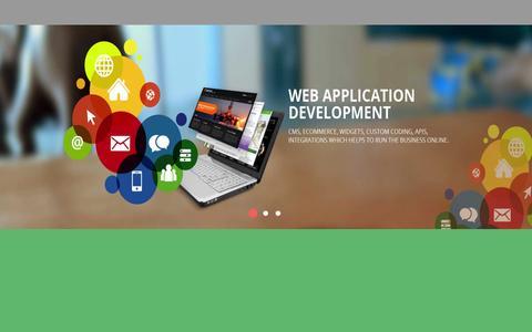 Screenshot of Home Page ankinfo.com - Ank Informatics - captured Oct. 3, 2015