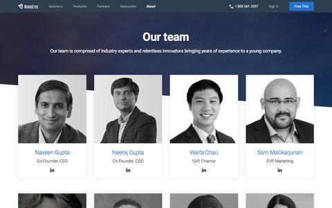 Screenshot of Team Page birdeye.com - (2) New Messages! - captured Sept. 11, 2018